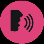 pink circle talk